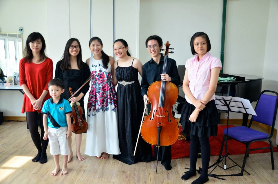 Performers Practise Calming Nerves At 13th Open Recital