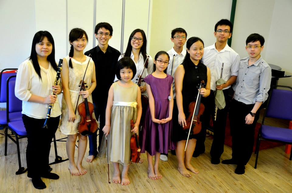 Two Ensembles At 15th Open Recital